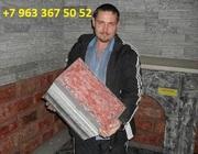 Мини завод с окупаемость от 2 мес. производство теплоблоков под мрамор