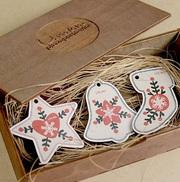 Роскошная упаковка для подарков из дерева